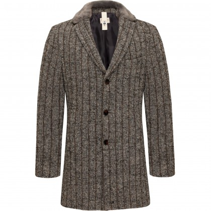 Semi-lined wool blend coat CG Malcom / Mantel/Coat CG Malcom BV