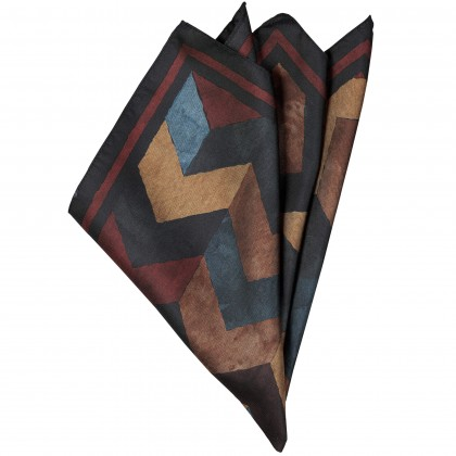 CG Kade Pocket square with graphic print / Accessoires CG Kade